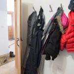 Utility room coat hooks